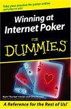 Winning at Internet Poker For Dummies   (For Dummies (Computer/Tech))